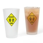 Coyote Crossing Drinking Glass