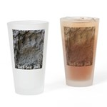 Real Bear Track Drinking Glass