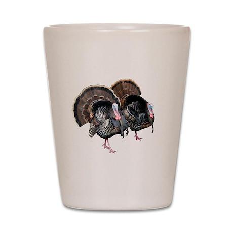 Wild Turkey Pair Shot Glass