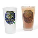 Not a Plastic Bag Drinking Glass
