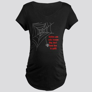 Quilt Maternity Dark T-Shirt
