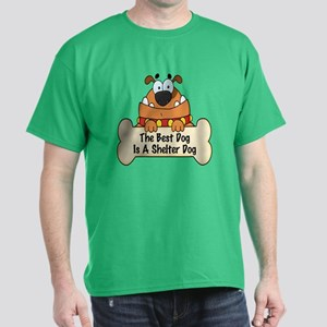 Best Shelter Dogs Dark T-Shirt