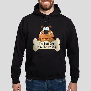 Best Shelter Dogs Hoodie (dark)