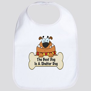 Best Shelter Dogs Bib