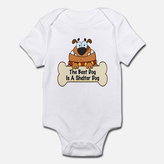 Best Shelter Dogs Infant Bodysuit