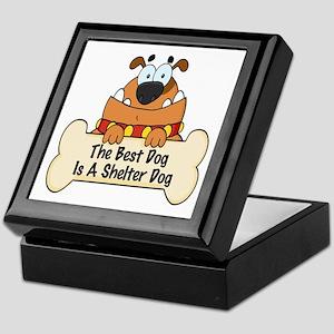 Best Shelter Dogs Keepsake Box