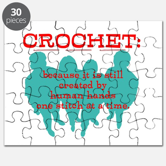 Crochet: because it's not mac Puzzle