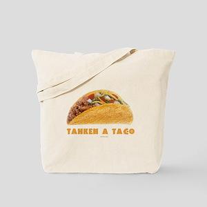 Tahkeh a Taco Yiddish Tote Bag
