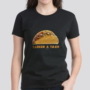 Tahkeh a Taco Yiddish Women's Dark T-Shirt