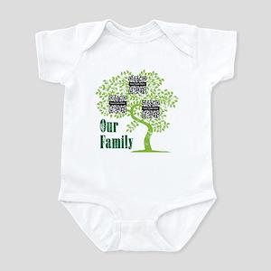 QR Family Tree (3) Infant Bodysuit