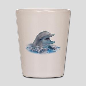 Happy Dolphin Shot Glass