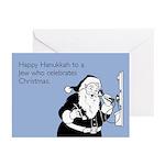 Jew Who Celebrates Christmas Greeting Cards (Pk of