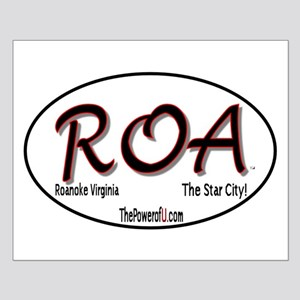 Roanoke, Virginia Small Poster