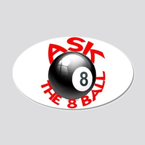 ASK THE 8 BALL™ 22x14 Oval Wall Peel