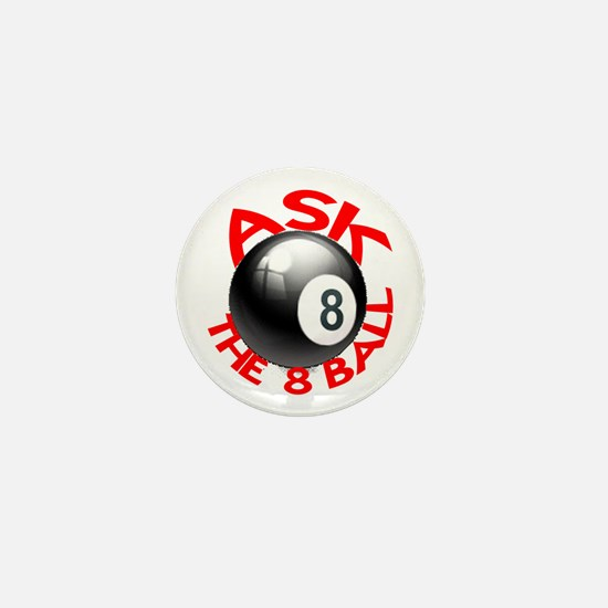 ASK THE 8 BALL™ Mini Button