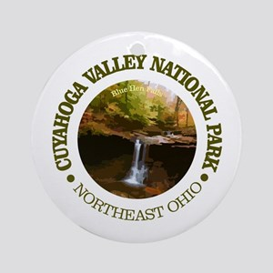 Cuyahoga Valley NP Round Ornament