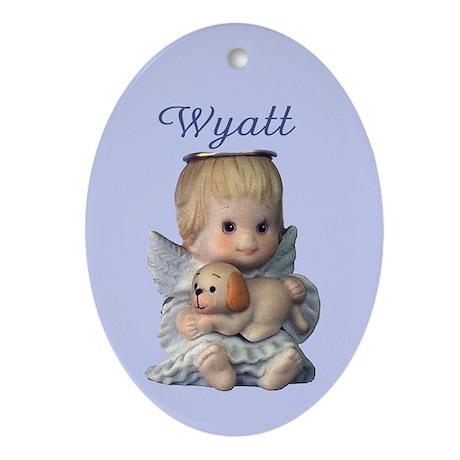 Wyatt Ornament (Oval)