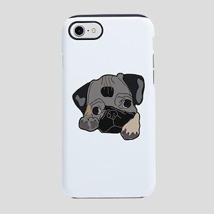 Pug love iPhone 7 Tough Case
