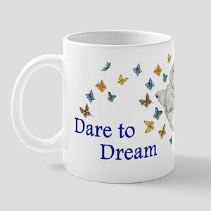 Dare To Dream Westie Mug