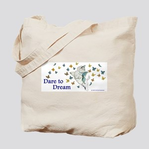 Dare To Dream Westie Tote Bag