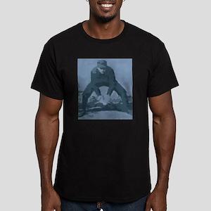 Blue Catcher Men's Fitted T-Shirt (dark)