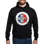 We Occupy 99% Hoodie (dark)