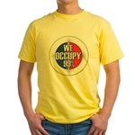 We Occupy 99% Yellow T-Shirt