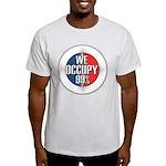 We Occupy 99% Light T-Shirt