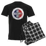 We Occupy 99% Men's Dark Pajamas
