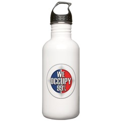 We Occupy 99% Water Bottle