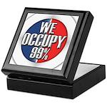 We Occupy 99% Keepsake Box