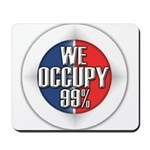We Occupy 99% Mousepad