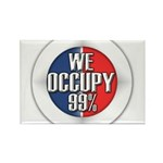 We Occupy 99% Rectangle Magnet (10 pack)