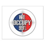 We Occupy 99% Small Poster