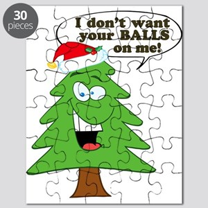 Funny Merry Christmas tree Puzzle