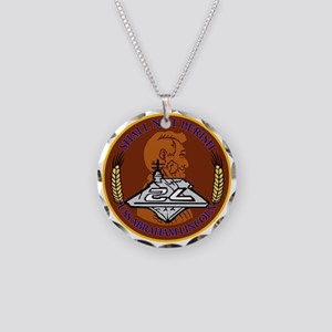 Abe Lincoln Patch Only Necklace Circle Charm