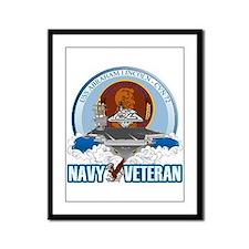 CVN-72 USS Lincoln Framed Panel Print