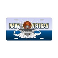 CVN-72 USS Lincoln Aluminum License Plate