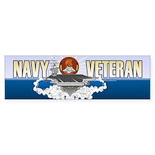 CVN-72 USS Lincoln Sticker (Bumper)