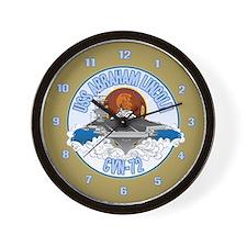 CVN-72 USS Lincoln Wall Clock
