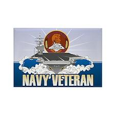 CVN-72 USS Lincoln Rectangle Magnet