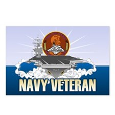 CVN-72 USS Lincoln Postcards (Package of 8)