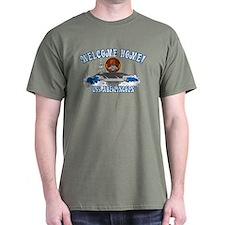 Welcome USS Lincoln! Dark T-Shirt