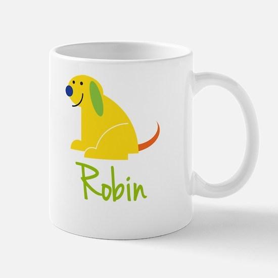 Robin Loves Puppies Mug