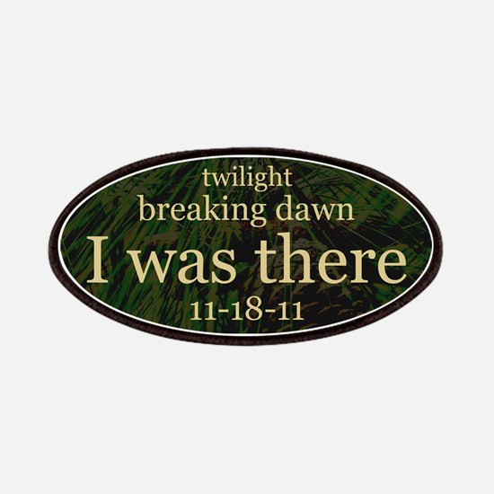 Twilight Breaking Dawn I Was Patches