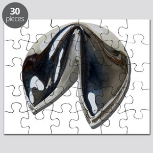 Silver Fortune Cookie Puzzle