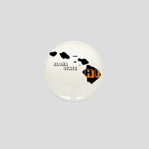 HI ALOHA STATE Mini Button