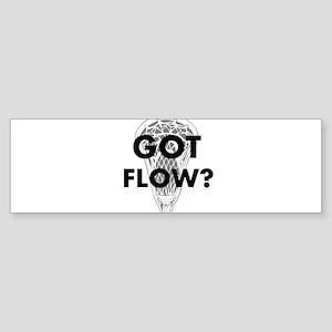 Got Flow? Sticker (Bumper)