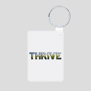 Thrive Aluminum Photo Keychain