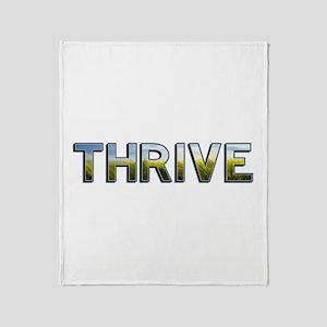 Thrive Throw Blanket